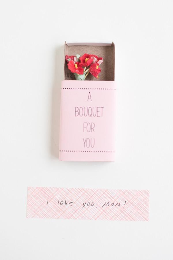 Flores numa embalagem especial