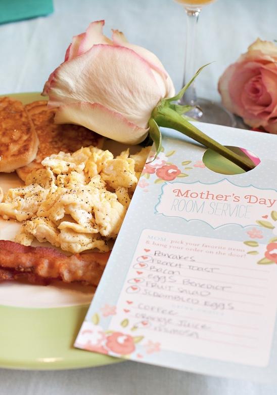 Menu especial para o almoço do dia das mães