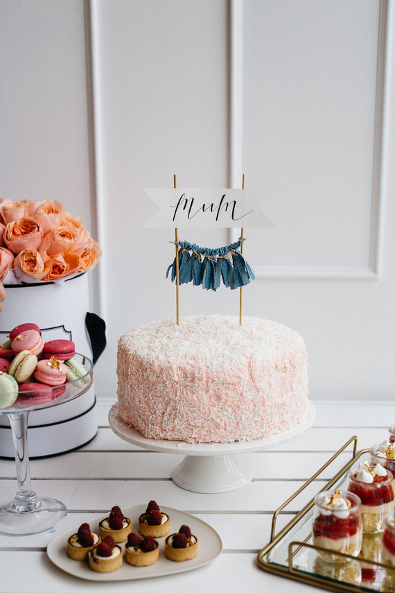 Festa que é festa tem que ter bolo