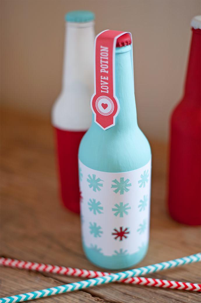Dê um significado diferente para as suas garrafas