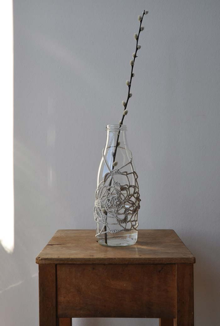 garrafa para uma decoração simples e super charmosa