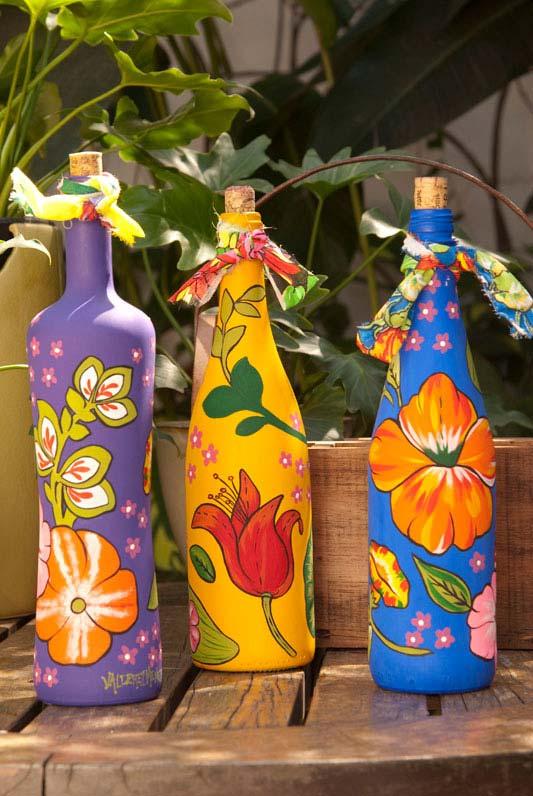 Garrafas florais