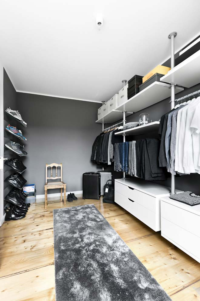 Modelo de closet masculino