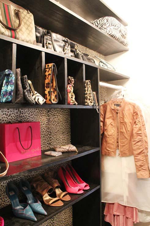 Nichos no modelo de closet