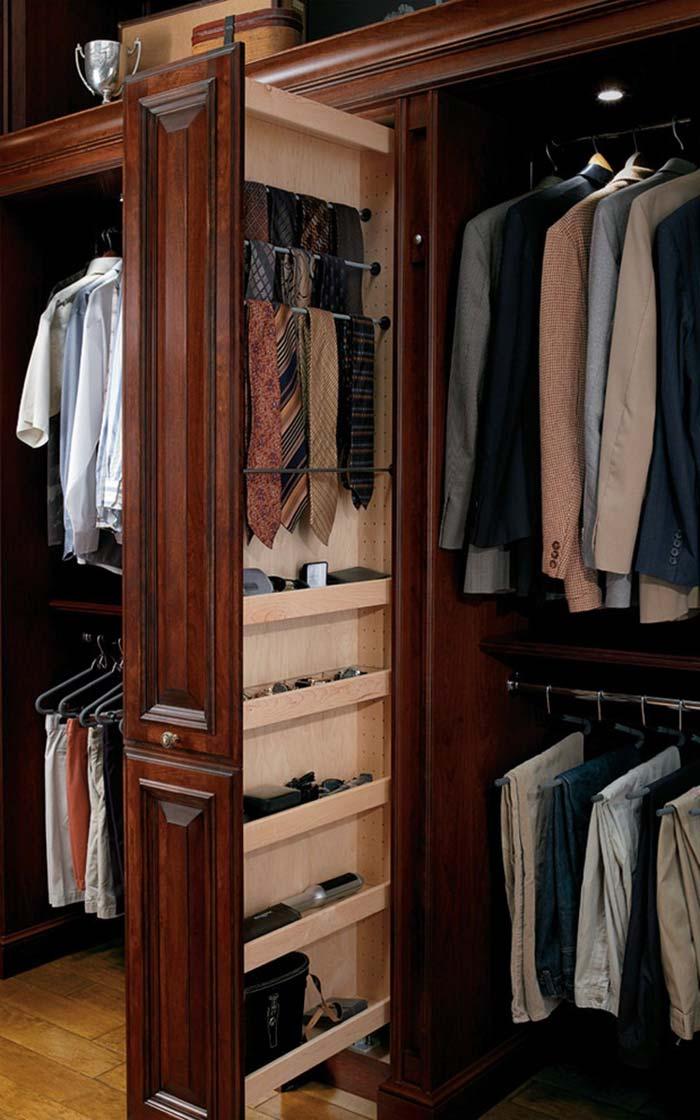 Compartimento especial para gavetas