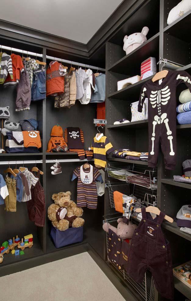 Modelo de closet infantil