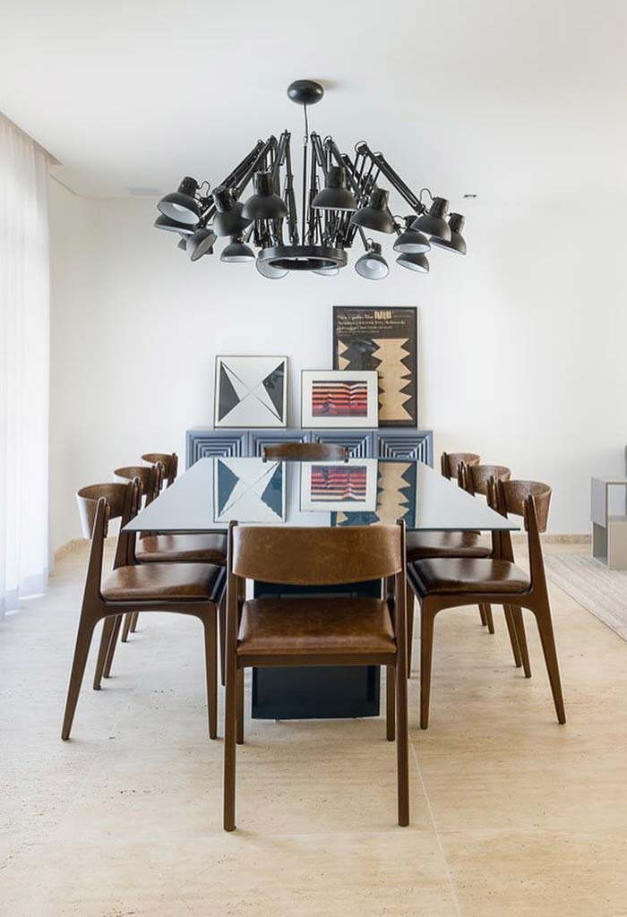 Sala de jantar de estilo clássico