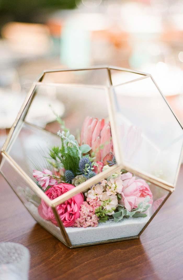 Mni rosas para decorar o terrário