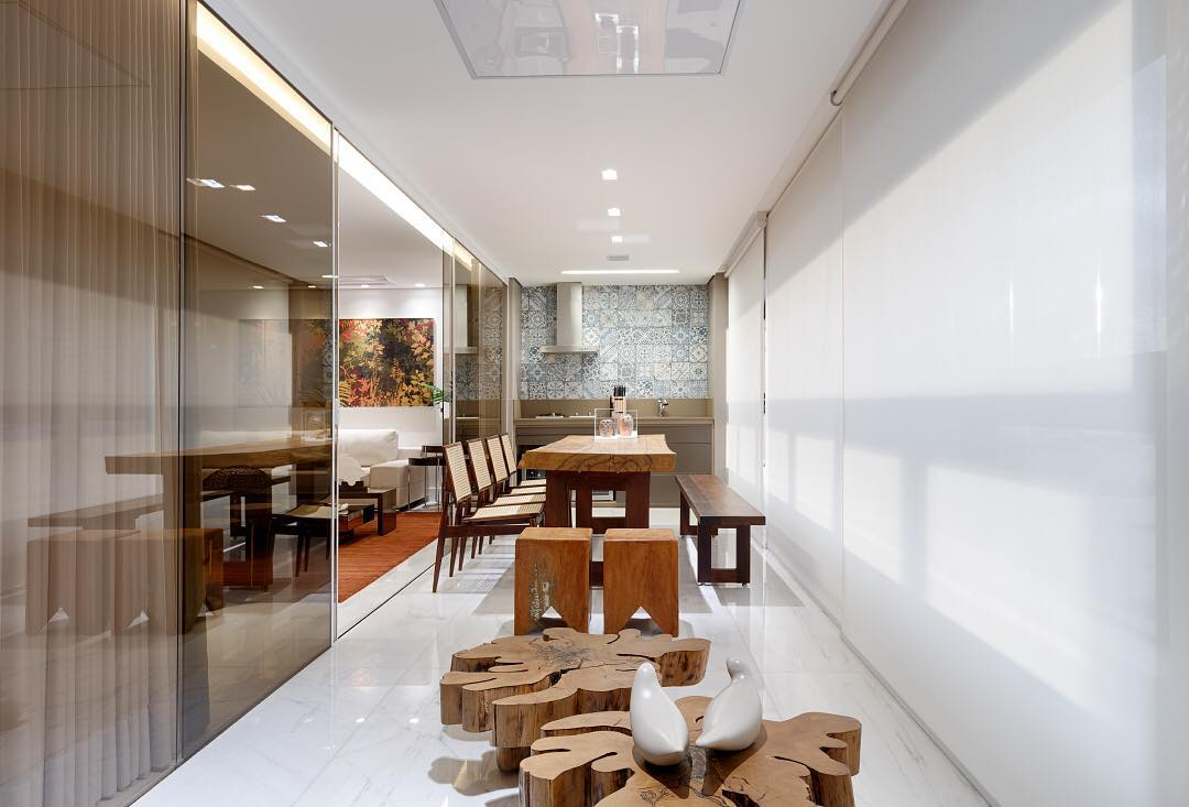 100 Varandas Gourmet Decoradas Em Casas E Apartamentos Fotos