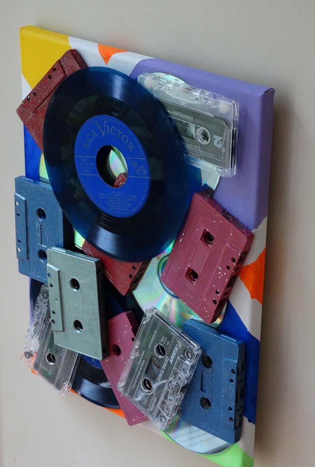 Fita cassete e CD
