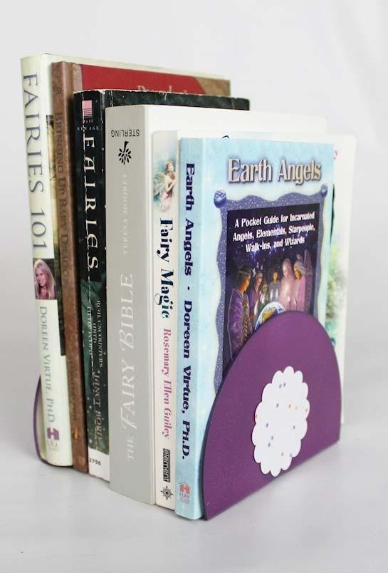 Artesanato com CDs de porta livros