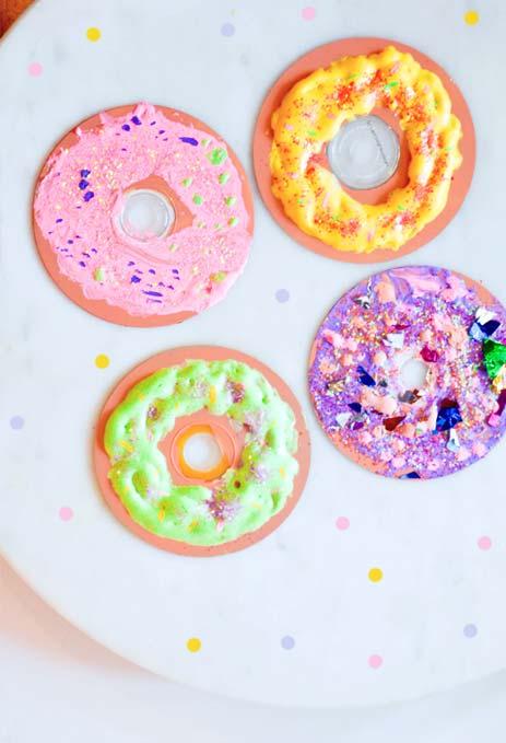 Donuts de CDs