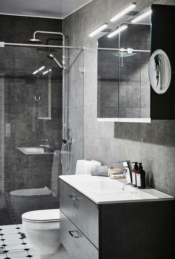 Cinza tipo concreto perfeito
