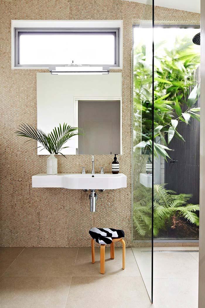 banheiro moderno e simples