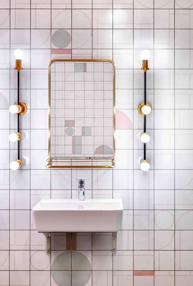 Instalação alternativa para espelho tipo camarim