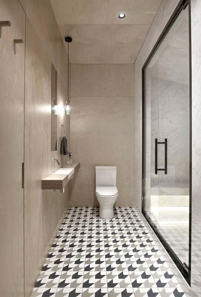 Ideia para banheiro moderno