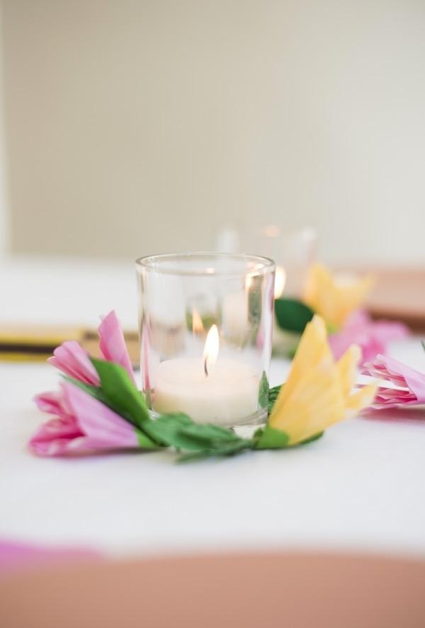 Velinhas para a decoração da mesa ou do quarto são sempre bem vindas