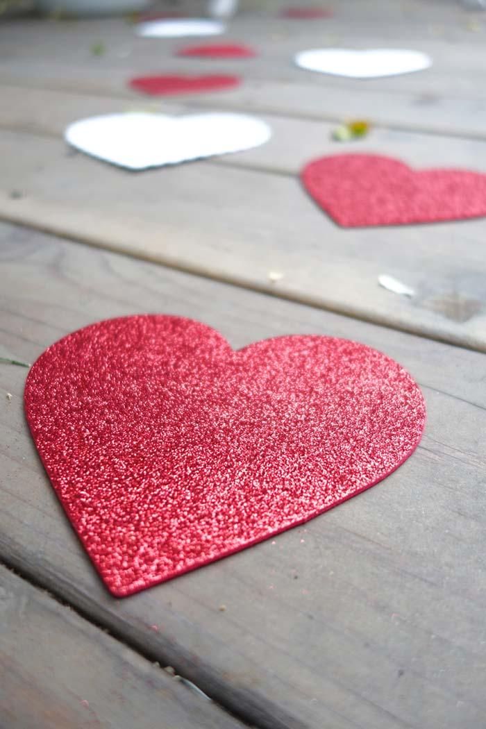 Siga o caminho dos corações