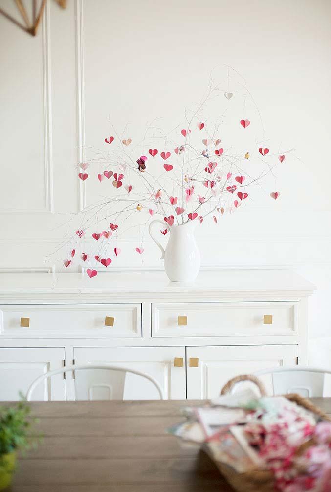 Arranjo bem simples e fácil para Dia dos Namorados