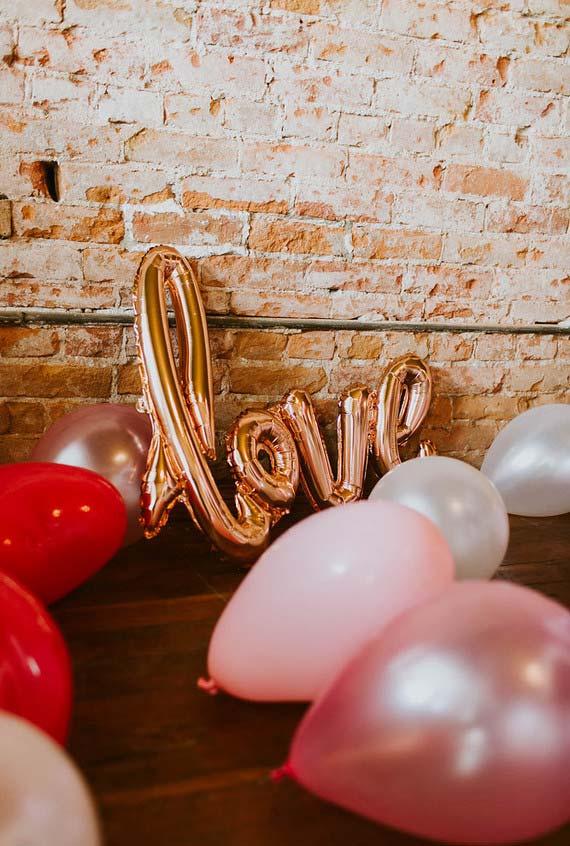 Balões para decorar sua festa de dia dos namorados