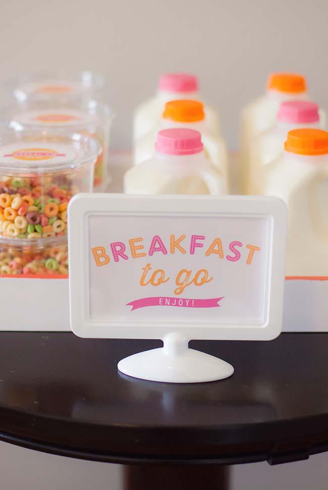 Porções individuais prontas para agilizar o café da manhã
