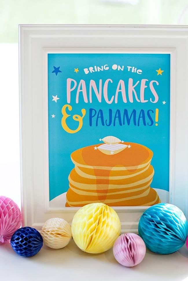 Decorações personalizadas e divertidas da festa do pijama