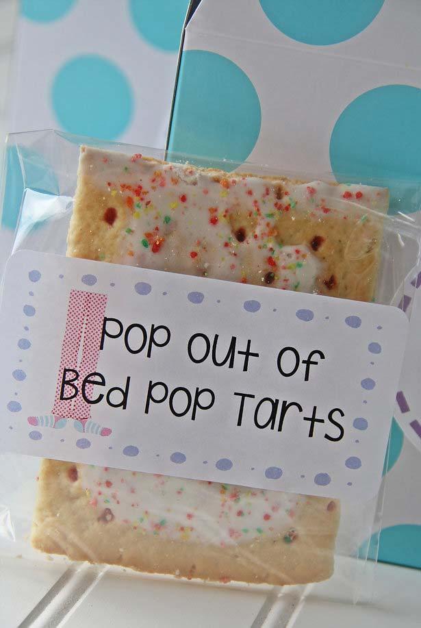 Pop Tarts para comer quando sair da cama