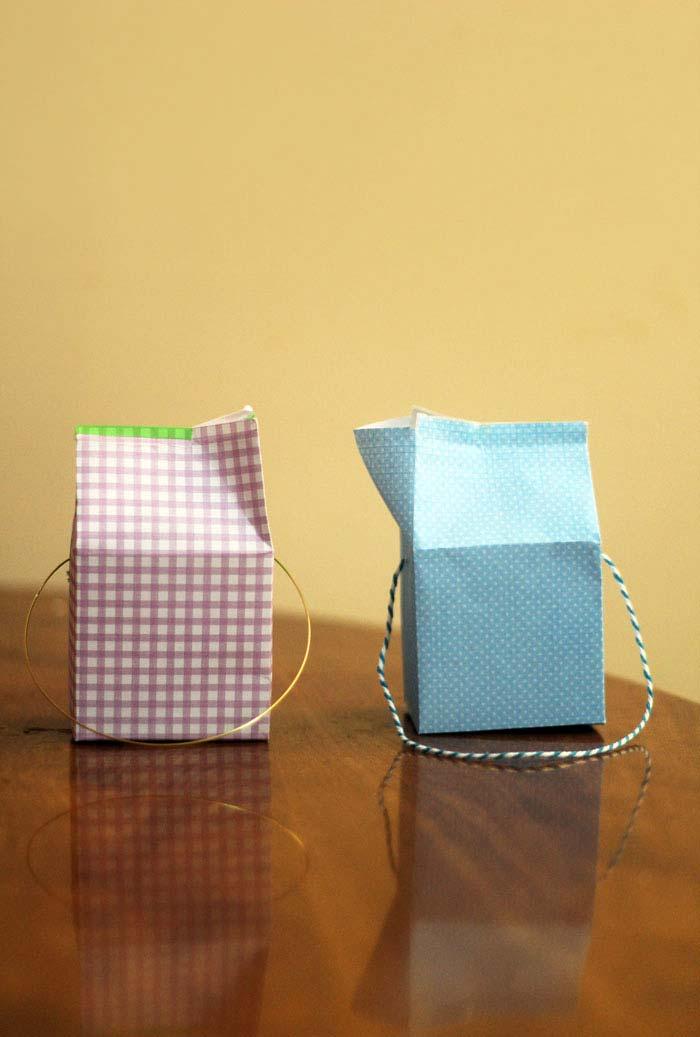 rtesanato com caixa de leite bolsas super simples e cheias de personalidade