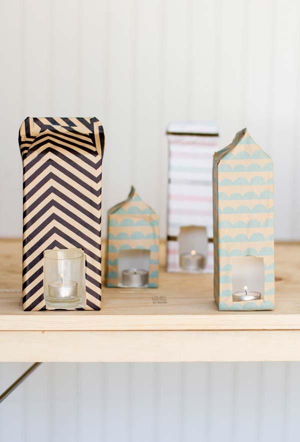 artesanato com caixa de leite condensado reciclado para a sua casa