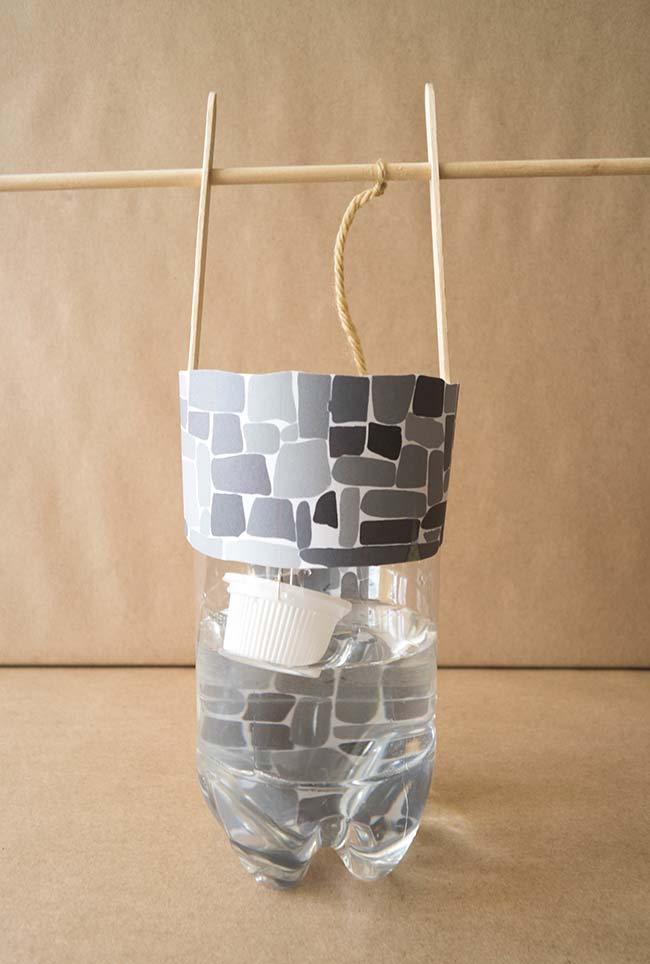 Artesanato com garrafa pet: um material ótimo para construir maquetes