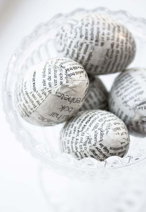 Mais embalagens simples e sustentáveis com artesanato de jornal