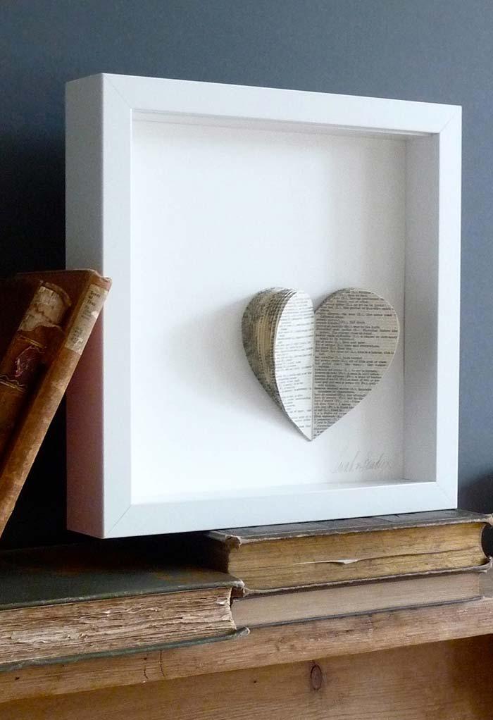 Artesanato com jornal: quadros cheios de estilo para decorar sua casa