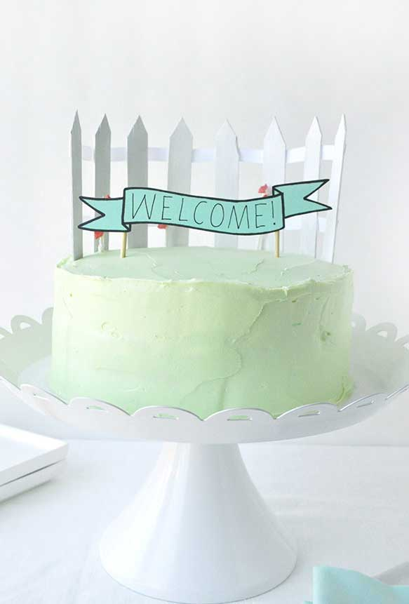 Uma decoração dos sonhos no topo do seu bolo de aniversário