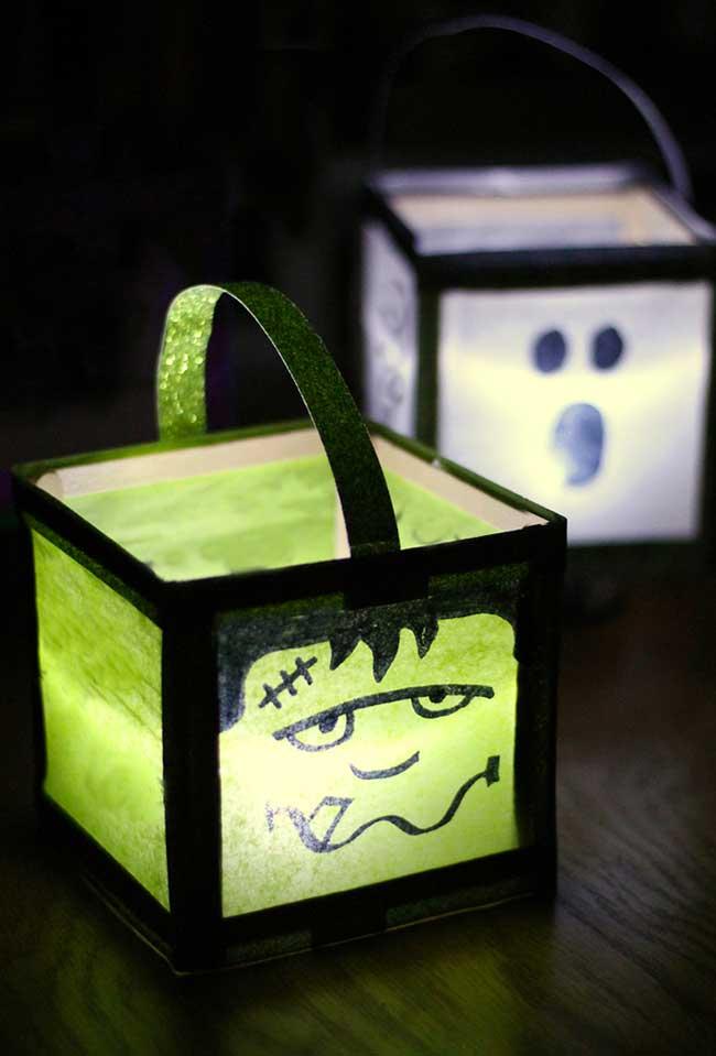 Lanterninhas para assustar todo mundo no dia das bruxas