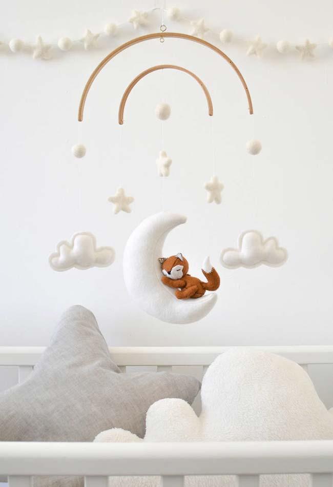 Móbile perfeito para o quarto de bebê