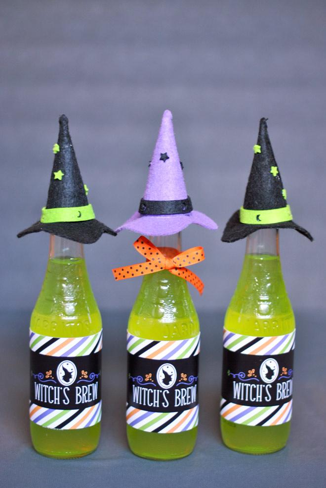 Lembrancinha para o dia das bruxas de artesanato em feltro