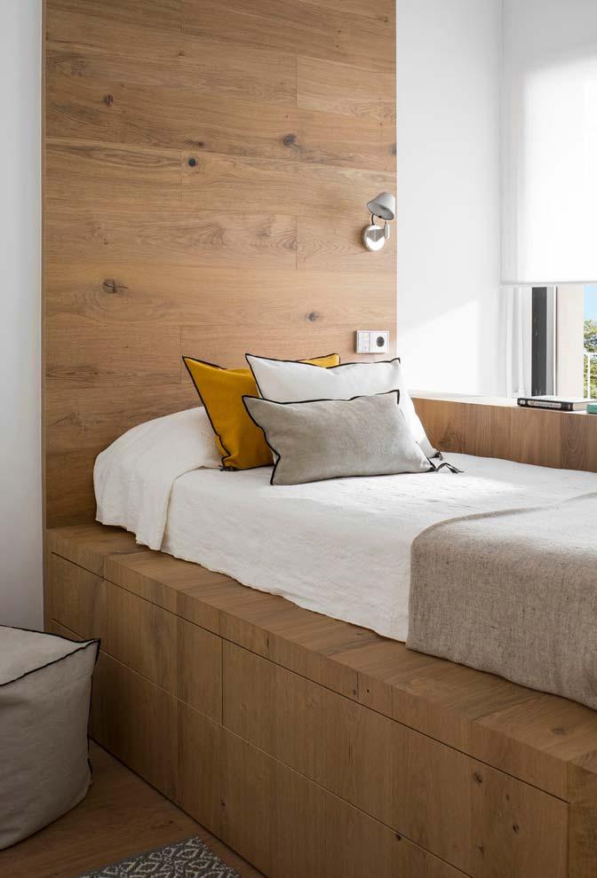 Balcão com cama japonesa