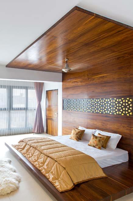 Base de madeira para a cama japonesa