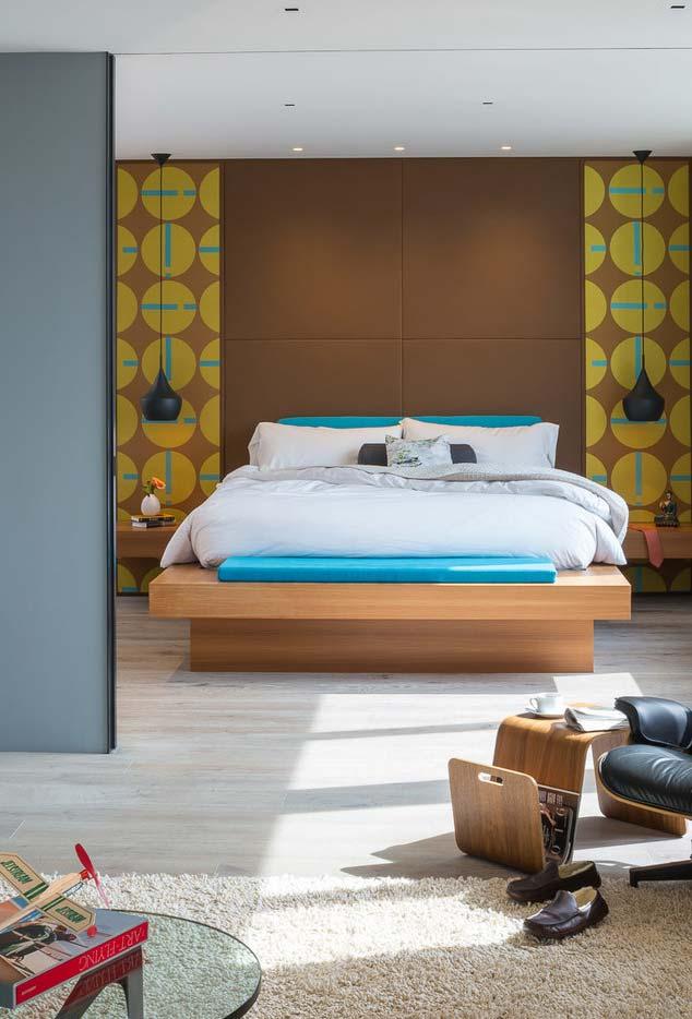 Design semelhante a uma cama japonesa