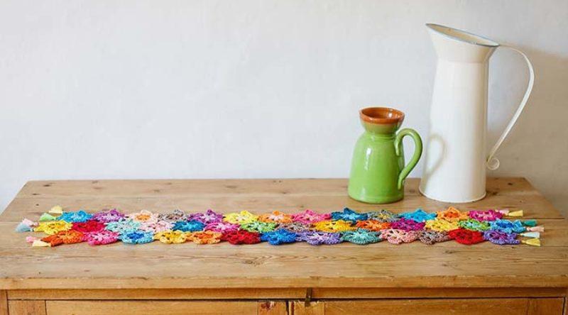 Caminho de mesa de crochê: veja incríveis modelos e passo a passo