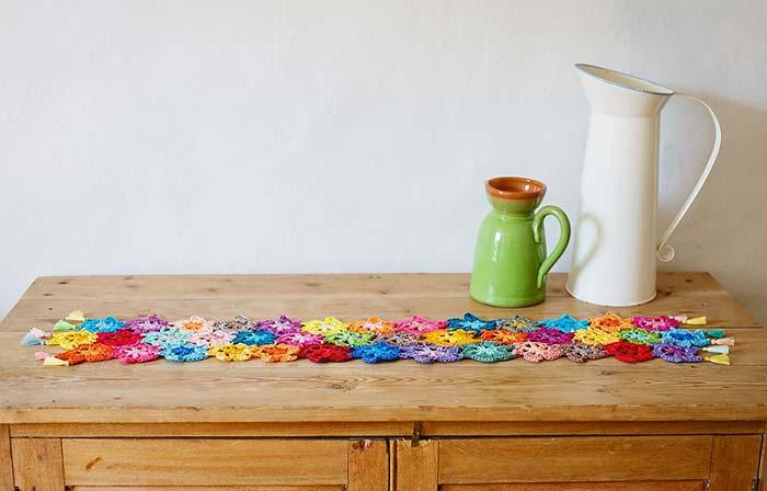 Caminho De Mesa De Crochê 60 Modelos Fotos E Passo A Passo