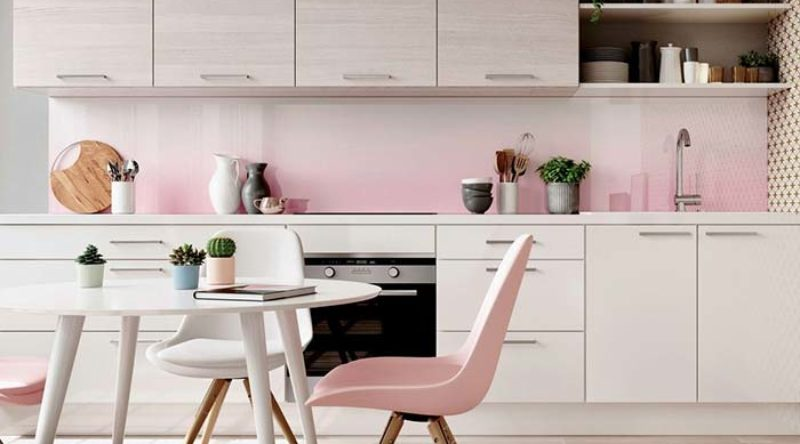 Cozinha rosa: ideias e tendências de projetos com a cor