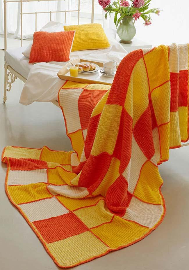Colchas para usar na cama, sofá, poltronas e divãs