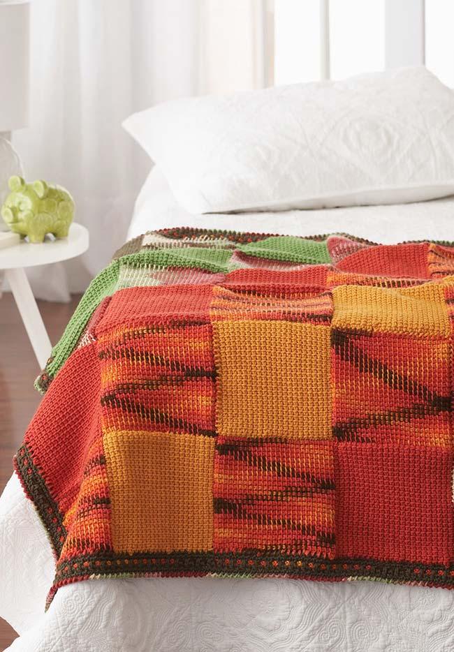 Misture cores e tons análogos na cartela de cores, como amarelo, laranja e vermelho