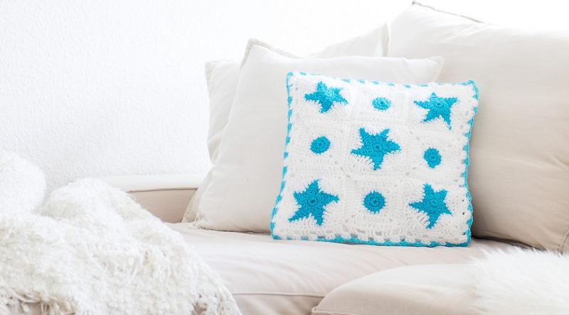 Almofadas de crochê: 75 ideias incríveis para fazer em casa