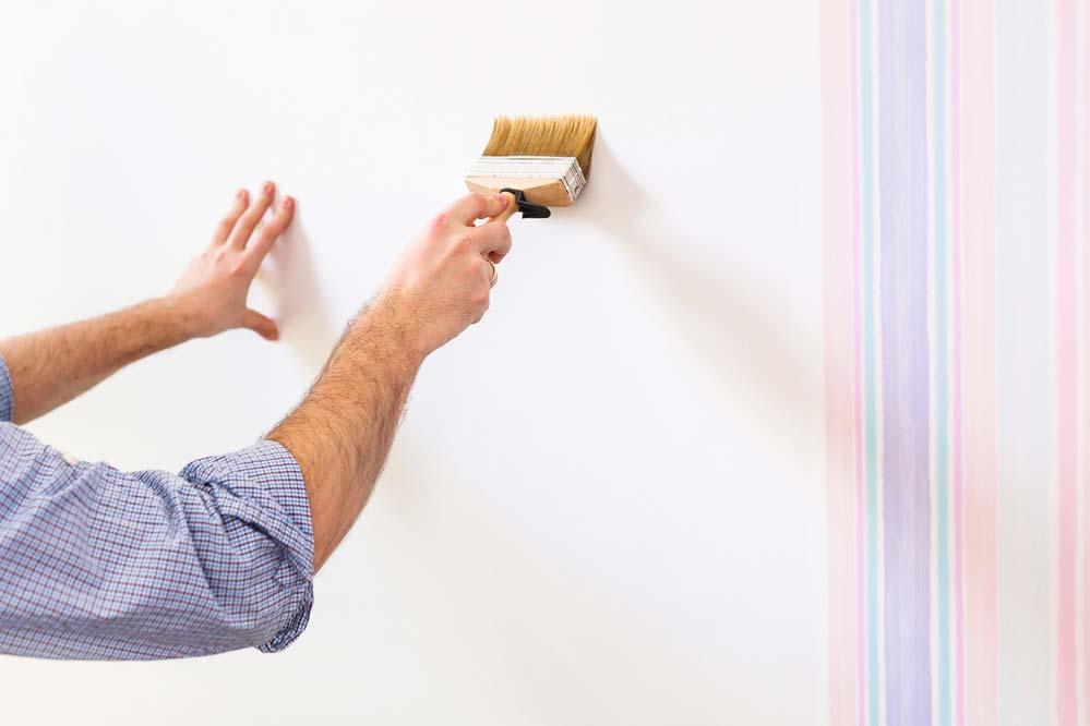 Materiais para instalar papel de parede