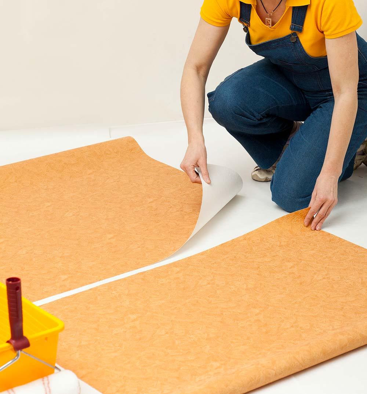Como colocar papel de parede: medidas do papel de parede