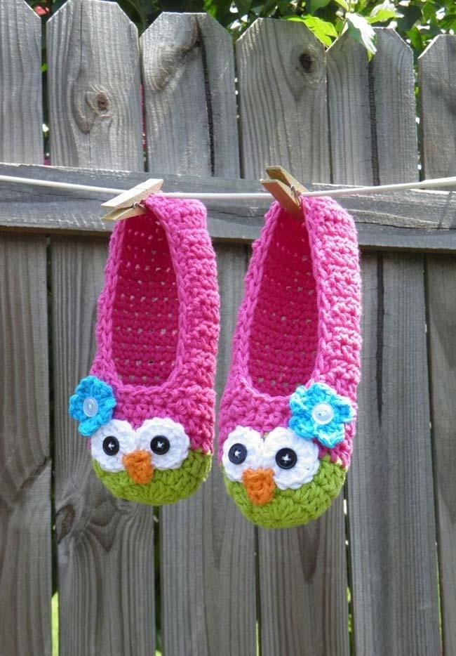 Pantufinhas para aquecer os pés dos adultos e das crianças