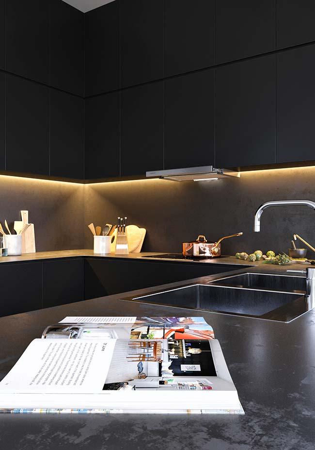 Cozinha pouco iluminada? Aposte em um sistema de iluminação artificial