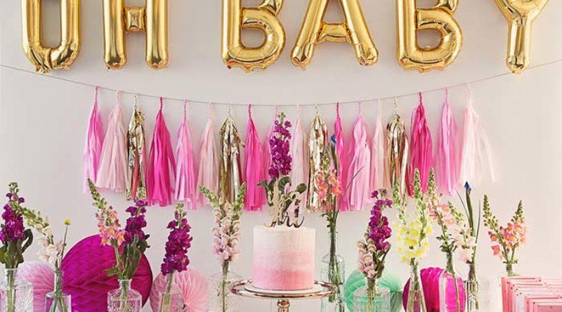 Decoração chá de bebê: saiba como organizar e decorar lindamente